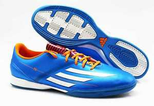 Details Zu Adidas Indoor Fussballschuhe Halle F10 In D67144 Adizero Blau 79 Gr 46 2 3