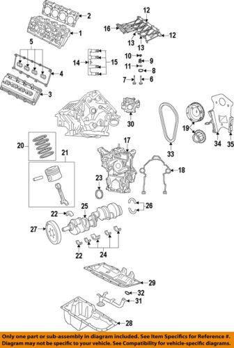 CHRYSLER OEM-Engine Cylinder Head Gasket 5038280AE