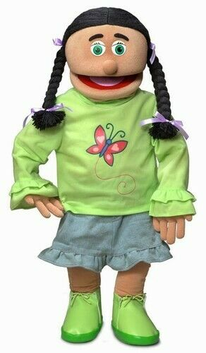 Silly Puppets Jasmine (Hispanic) 30 inch Professional Puppet