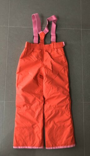 New Boden Ski Pants 9-10yrs All Weather Waterproof Trousers Orange 140cms New