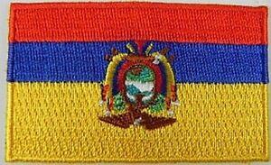Ecuador-Aufnaeher-gestickt-Flagge-Fahne-Patch-Aufbuegler-6-5cm-neu