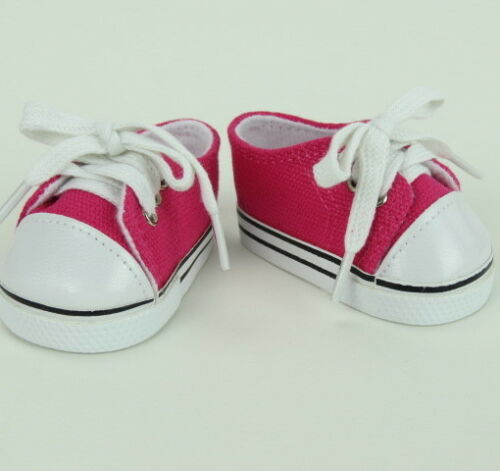 """Doll Clothes 18/"""" Sneakers Hot Pink Sophia/'s Fits American Girl Dolls"""