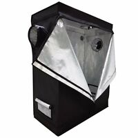 120x 60x150cm Indoor Grow Tent Room Reflective Mylar Hydroponic Non Toxic Hut