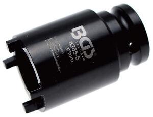 """SûR Douille à Ergots 1/2"""" Pour écrou à Encoches Km4 - Dents Extérieures Ø 37mm Performance Fiable"""
