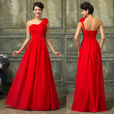 Vintage Style Formal Homecoming Ball Gown Evening Party Wedding Bridesmaid Gowns