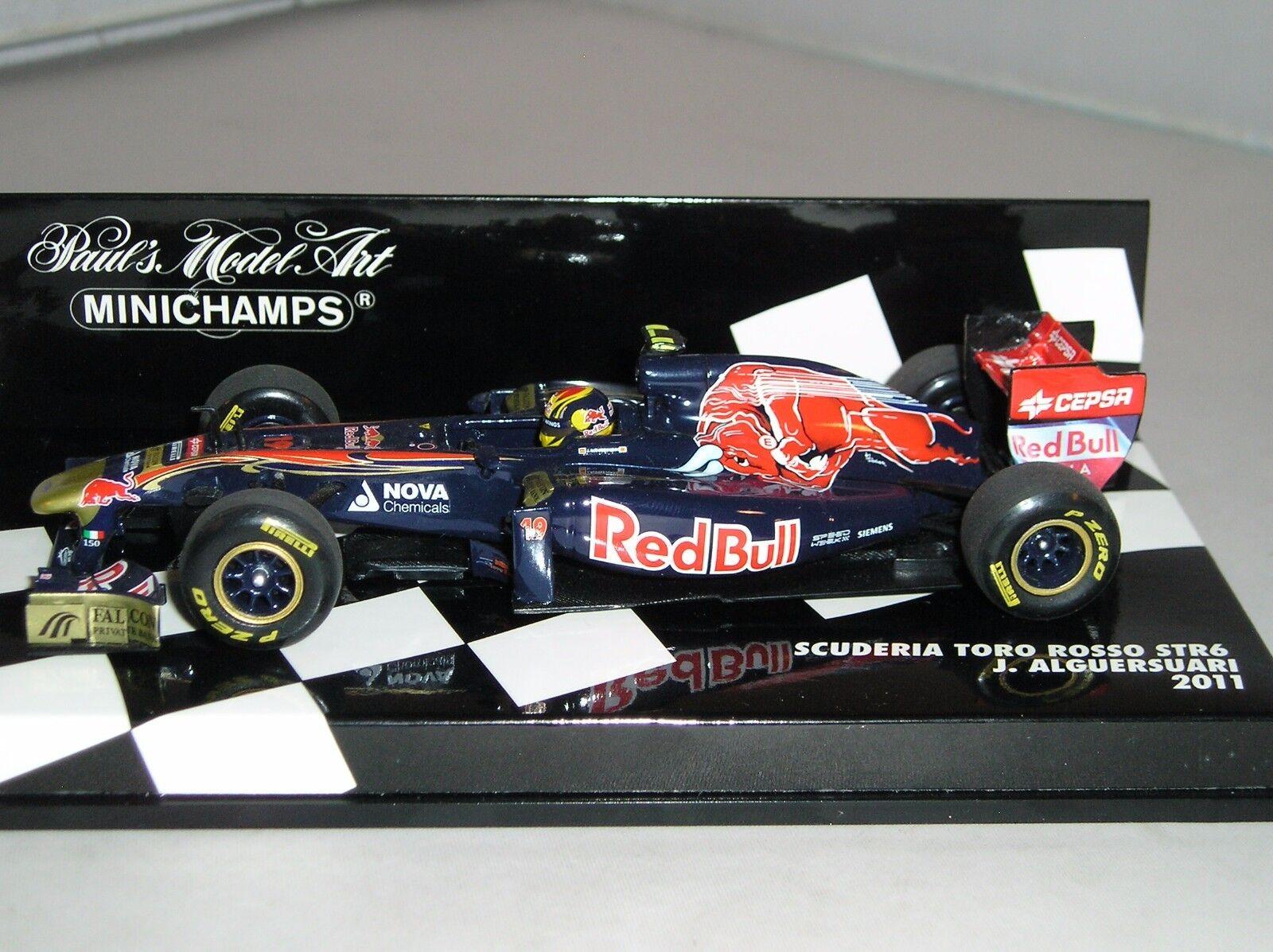 sport caldi Minichamps 410110019 410110019 410110019 Scuderia Toro Rosso STR6 F1 Auto 2011 J Alguersuari 1 43  migliori prezzi e stili più freschi
