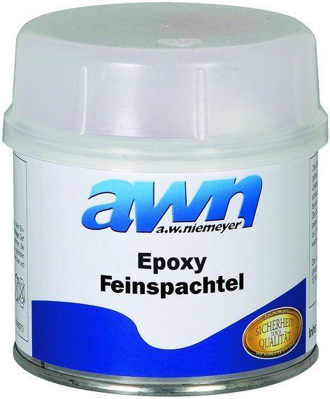 AWN Epoxy Feinspachtel Epoxid Spachtel Spachtel Epoxid 2 Komponenten Reparaturspachtel 2 kg 02ee07