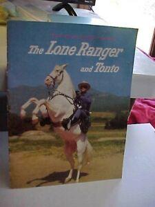 "Vintage, 1957,  The LONE RANGER & TONTO Souvenir Photo Album - ""Rare"" Issue"""