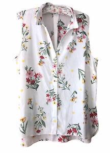 Dorothy Perkins Ladies Sleeveless Blouse, Size 18