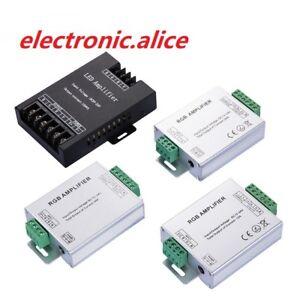 RGBW-Amplifier-LED-strip-RGB-Repeater-Controller-signal-transmission-DC5V-12-24V