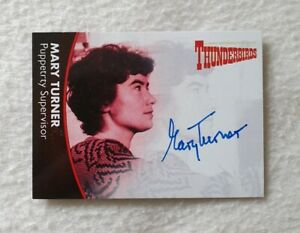 Thunderbirds Series 2 Mary Turner As Puppetry Supervisor MT1 Autograph Card