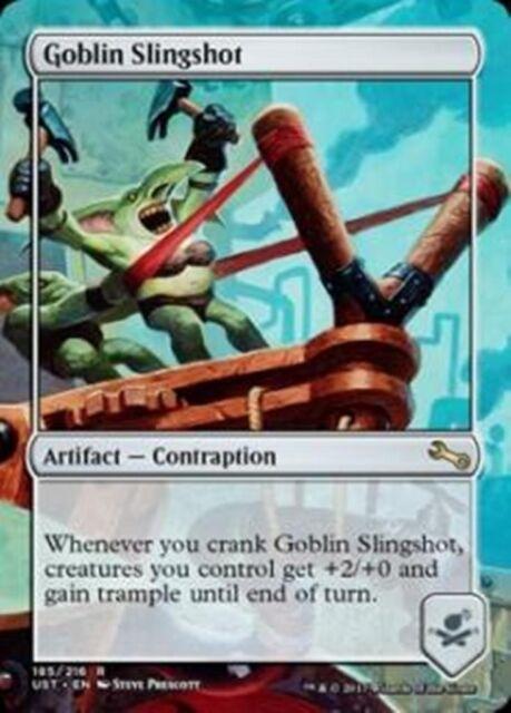 MTG UNSTABLE Goblin Slingshot