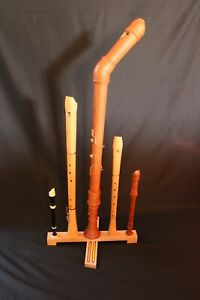 Handmade-Wooden-Recorder-Stand-In-Solid-Beech