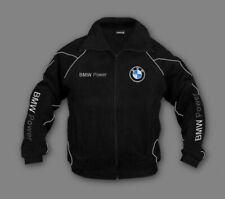 New Bmw Power Fleece Jacket Fan Embroidery Apparel Size S 3xl