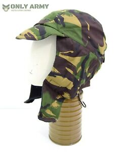 NEW-British-Army-Goretex-MVP-Trapper-Hat-Wet-Weather-Waterproof-Hat-DPM-Camo