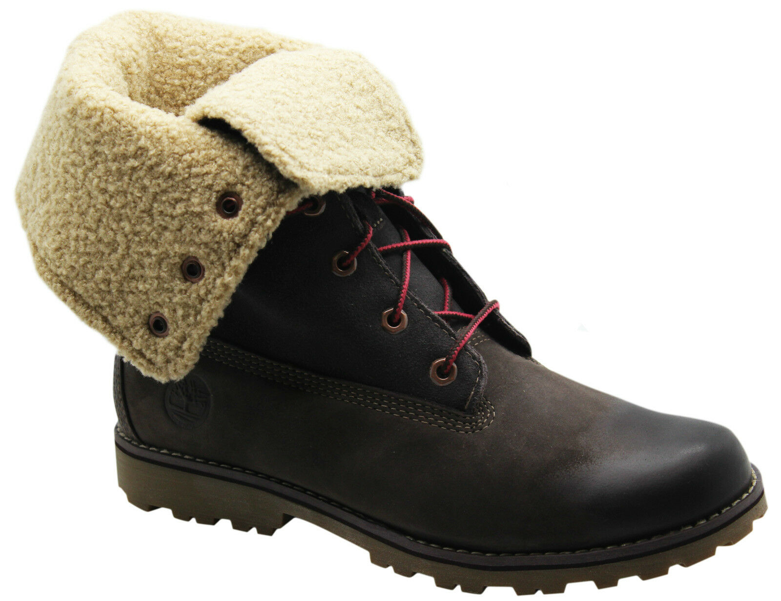 Détails sur TIMBERLAND Authentique 6 IN (environ 15.24 cm) Shearling Juniors Bottes Enfants Roll Down 6298R WH afficher le titre d'origine