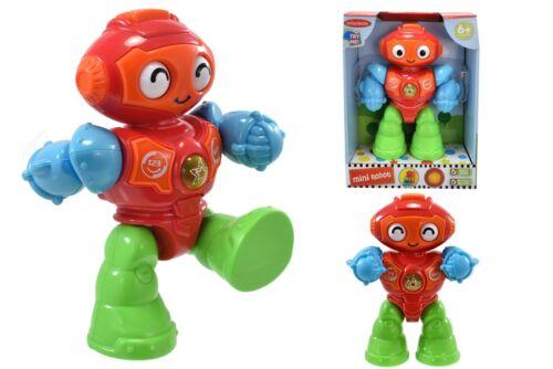 MINI robot che cammina giocattolo educativo per l/'attività BABY/'S FIGURINA REGALO CON SUONI
