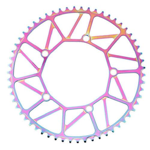 Folding Bike Single Disc Narrow 130BCD Crankset Chainring Tooth Plate Disc Tool