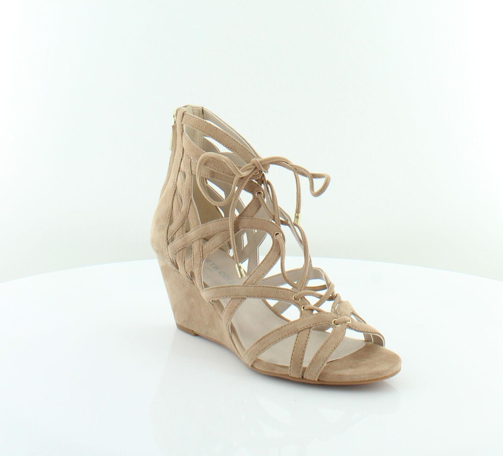 Kenneth Cole Dylan Beige damen schuhe Größe 6.5 6.5 6.5 M Sandals MSRP  130 5b7bb3