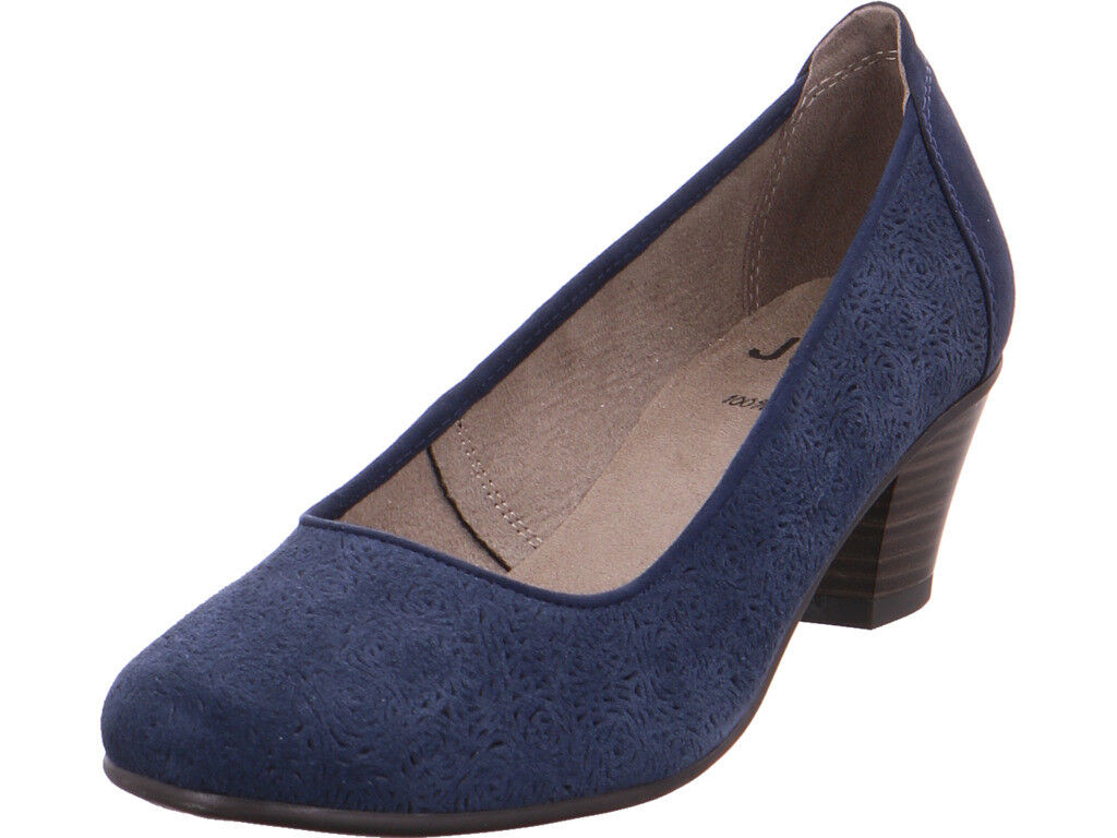 Jana  Da.-Pumps Pumps elegant Abendschuhe Party Ball blau