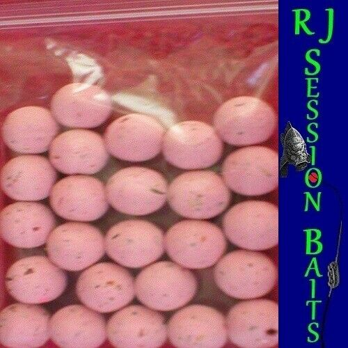 Nash Strawberry Crush 15mm Session Pack of 25 Boilies
