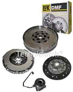 VAUXHALL-ASTRA-1-7CDTI-110-125-DUAL-MASS-DMF-LUK-FLYWHEEL-CLUTCH-KIT-WITH-CSC