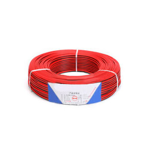 RVB2 x 0.3//0.5//0.75//1//1.5mm² PVC Wire 2 Core Red Black Home Loud Speaker Cable