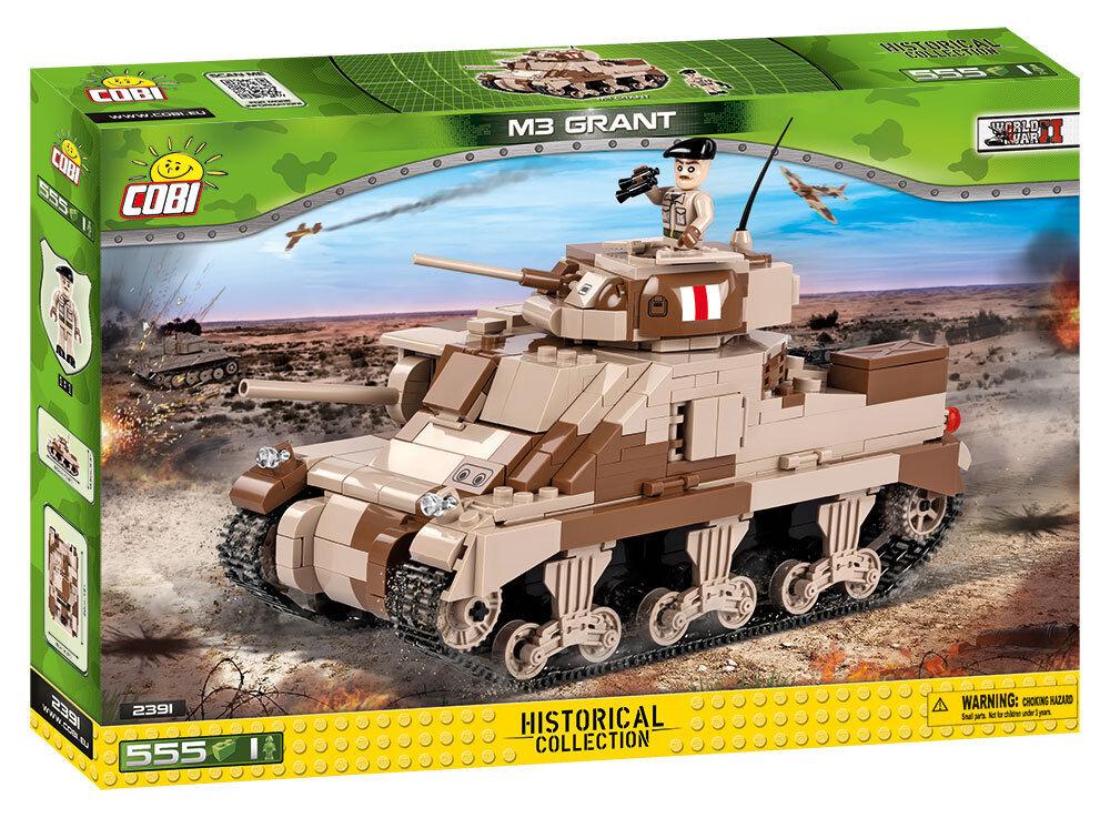 Cobi 2391 - Small Army - WWII British M3 Grant - Neu