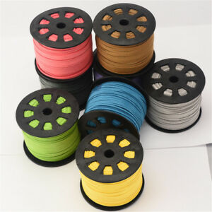 Wholesale-Leather-String-Thread-Suede-Cord-Cords-5-Metres-DIY-Jewelry-Making