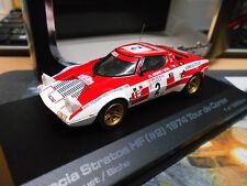 LANCIA Stratos HF Rallye Tour de Corse 1974 Andruet Biche #2 HPI Highend 1:43