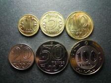 10 pcs x set 6 coins 1 5 10 20 50 100 Tenge 2019 UNC Lemberg-Zp Kazakhstan