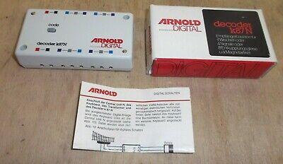 Arnold 86078 K87 N Märklin Decoder Empfängermodul für 4 Weichen oder Signale gut