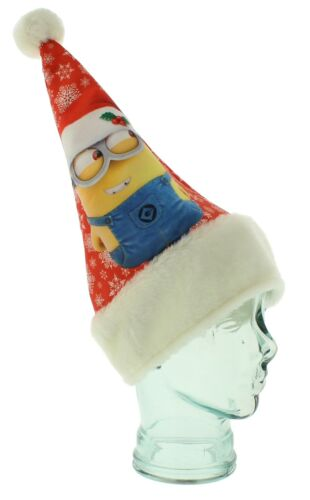 Minion Christmas Santa Festive Party Hat  NEW     27505