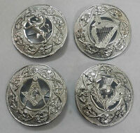 Kilt Fly Plaid Brooch Various Design 3 Silver Finish/celtic Brooches & Pins