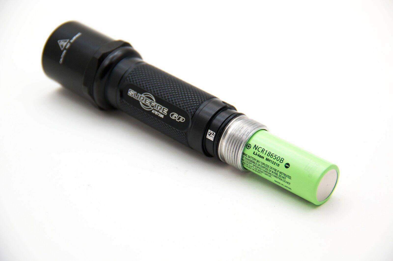 New   18650 Bored  SureFire 6P 18650 Flashlight (no bulb, no batteries)