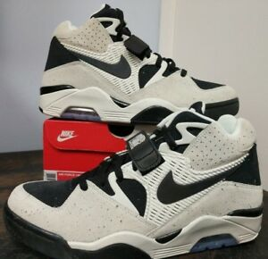 Details about Nike Air Force 180 Oreo SailBlack Men's Basketball Shoes 310095 101 size 11.5