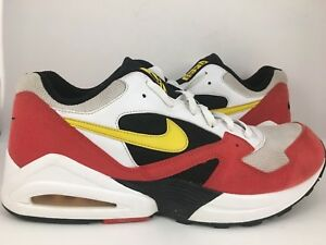 sports shoes 627a6 4e824 Details about 2008 Nike Air Max Tailwind 92 OG SZ 13 336611-171  White/Black/Red