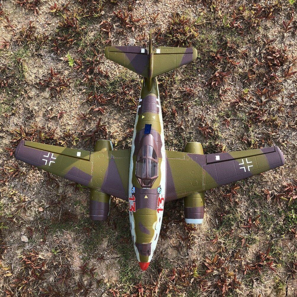 Dual 50mm EDF  rc jet ME262 ME-262 plane modellolo EPO KIT e KIT with motor  benvenuto a scegliere