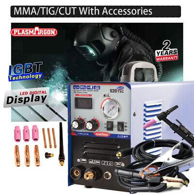 Foot Pedal Suit Plasma Cutter Welding Machine 520tsc Tig Welders 3+2 Pin style