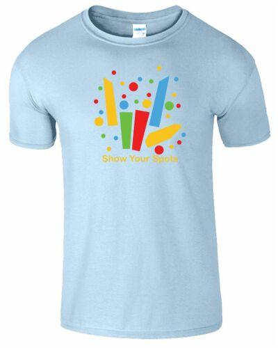 Spotty Share The Love Kids Tshirt Youtuber Stephen Christmas Boys Girls Top Tee