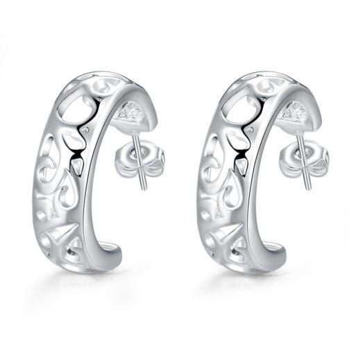 Damen Ohrring Ohrstecker Ohrhänger Creolen pl mit Sterlingsilber DO630  T::A