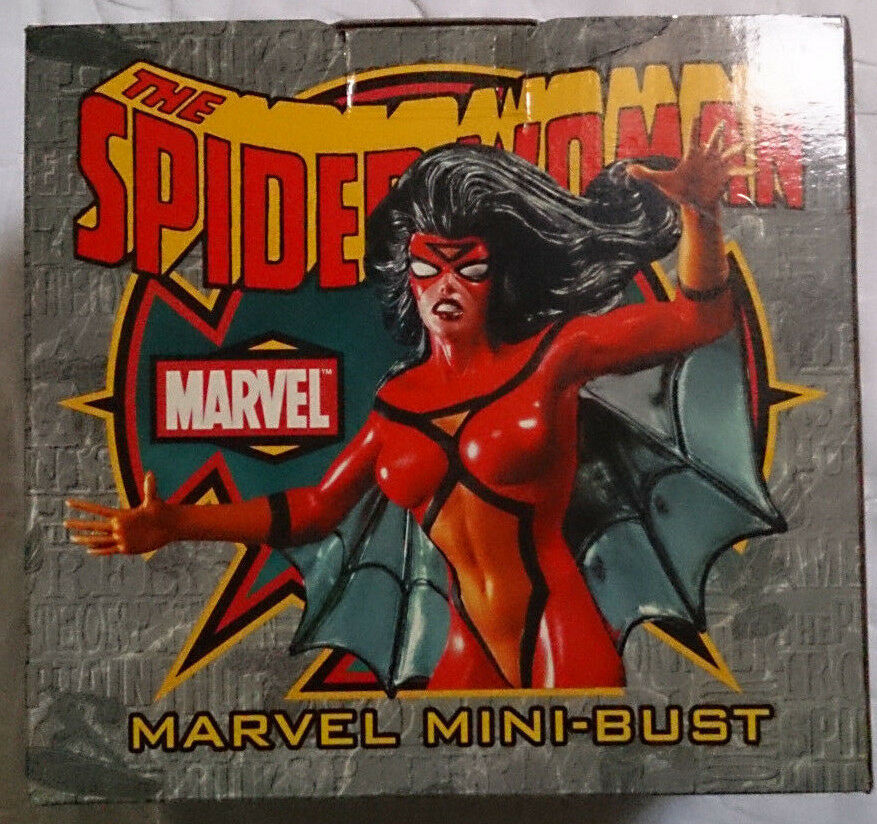 Marvel Comics Bowen Avengers The Spider-Woman Mini buste statue avec boite