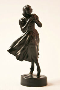 Antique-Russian-KACNH-KASLI-Metal-Cast-Iron-Figurine-034-Ballerina-Giselle-034