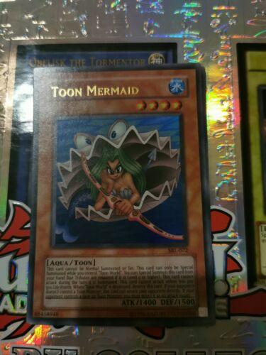 Yugioh SRL-072 Toon Mermaid Unlimited Edition