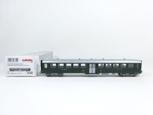 SBB nuevo Märklin h0 43382 ligeramente acero-sede coche 3 clase embalaje original