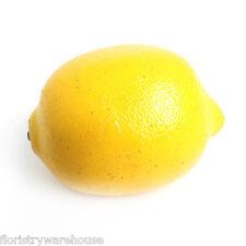 Artificial Lemon 8cm realistic life size fake fruit