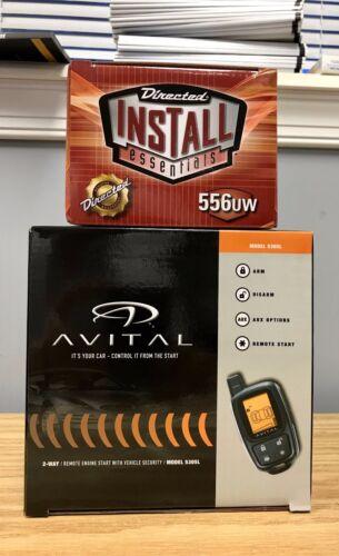 556UW Bypass 2 items ! Avital 5305L 2-Way Remote Start /& Car Alarm Bundle