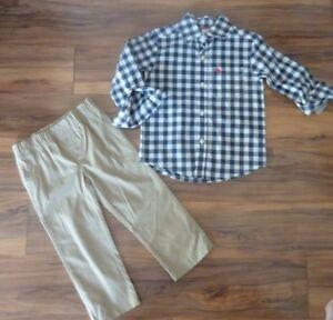 0c247047c NWT Carter's Baby Boys' 2-Piece Plaid Button-Front & Pant Set, 2T | eBay