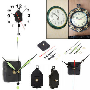 Mute-Hanging-Black-Quartz-Watch-Wall-Clock-Movement-Mechanism-Parts-Repair-Repla