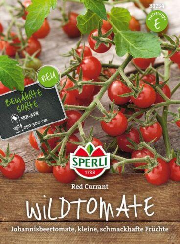"""Sperli-wildtomate /""""red Currant/"""" johannisbeertomate petite tomate 83235"""